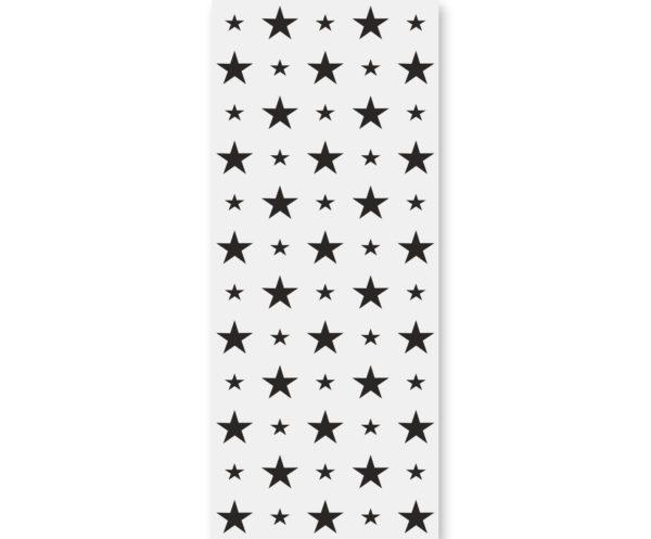 Tapeta dla dzieci Black Stars