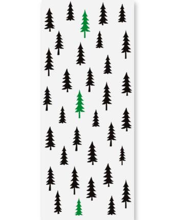 Tapeta dla dzieci green forest