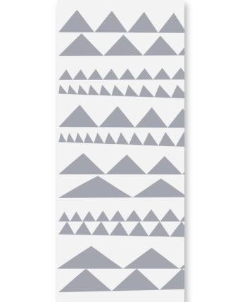 tapeta dziecięca Triangles