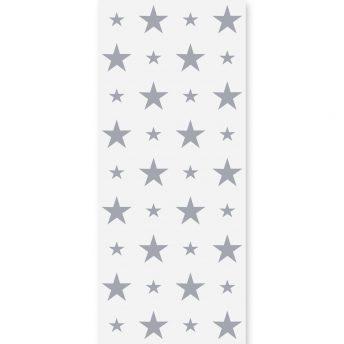 Tapeta dziecięca Grey Stars 3