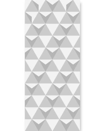 tapeta dla dzieci triangulars grey II