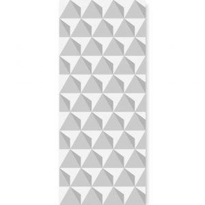 tapeta triangulars grey