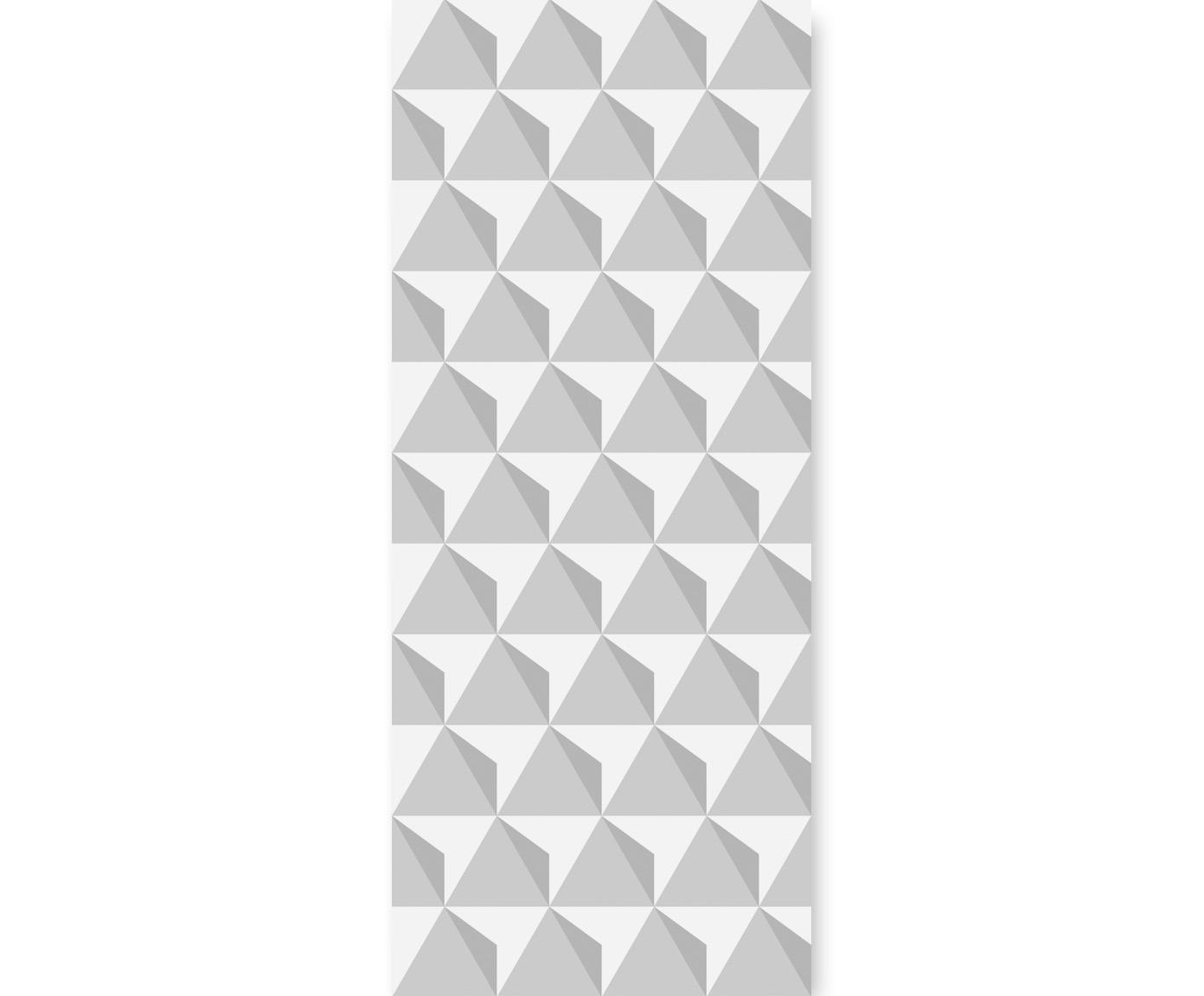 tapeta dla dzieci triangulars grey
