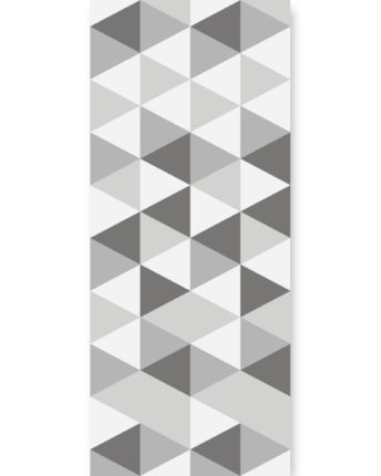 tapeta dla dzieci hexagons short grey