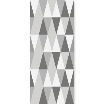 Tapeta dla dzieci Hexagons Long Grey