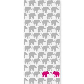 tapeta dziecięca pink elephants 2