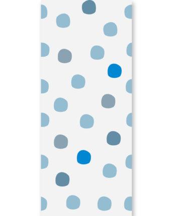 tapeta dla dzieci blue dots