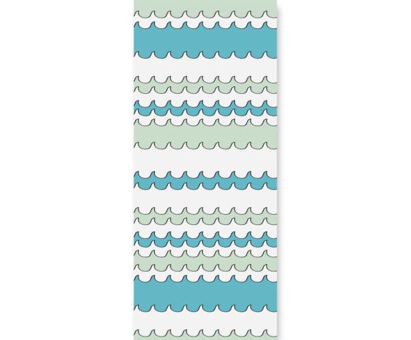 Tapeta dla dzieci Waves w morskim klimacie