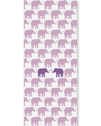 Tapeta dziecięca Violet Elephants
