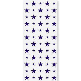 tapeta dla dzieci dark blue stars