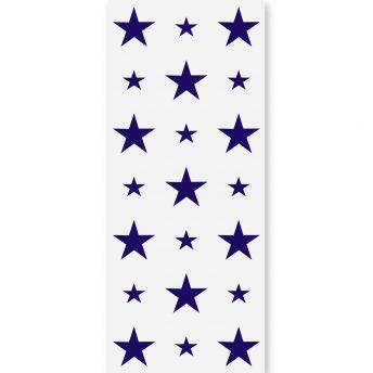 Tapeta dla dzieci Dark Blue Stars 2
