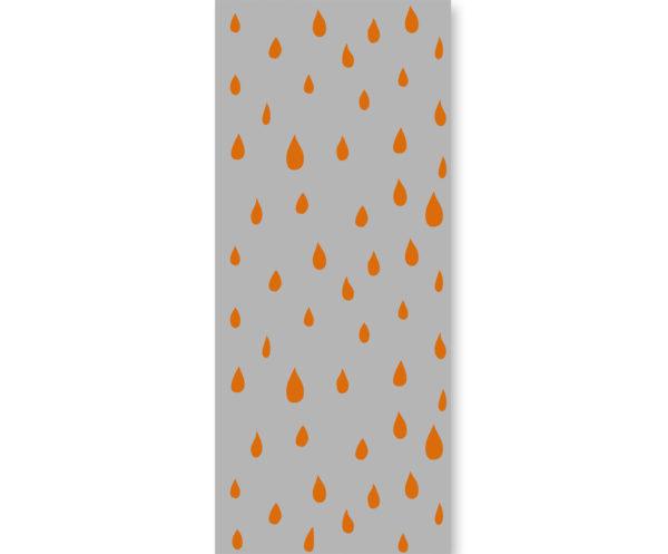 tapeta dziecięca orange seeds