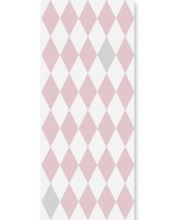 tapeta dla dzieci pink diamonds