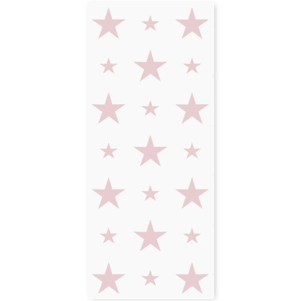 tapeta dla dzieci pink stars