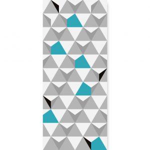 Tapeta Turquoise Triangulars