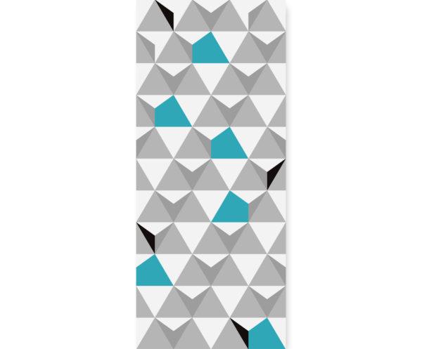 Tapeta dla dzieci Turquoise Triangulars