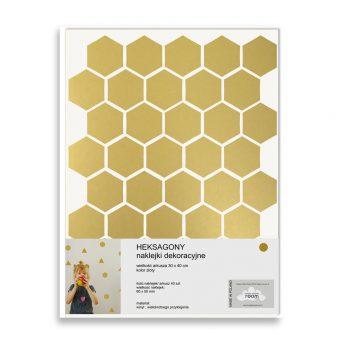 Naklejki ścienne Hexagons