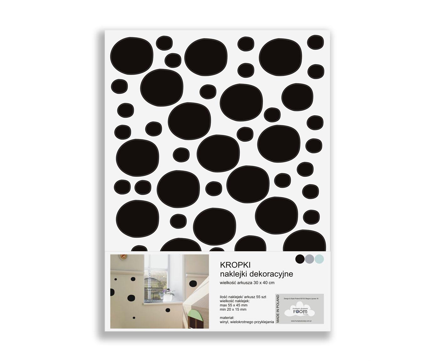 Naklejki Dots Colour
