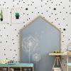 Tapeta dla dzieci Cactus dots