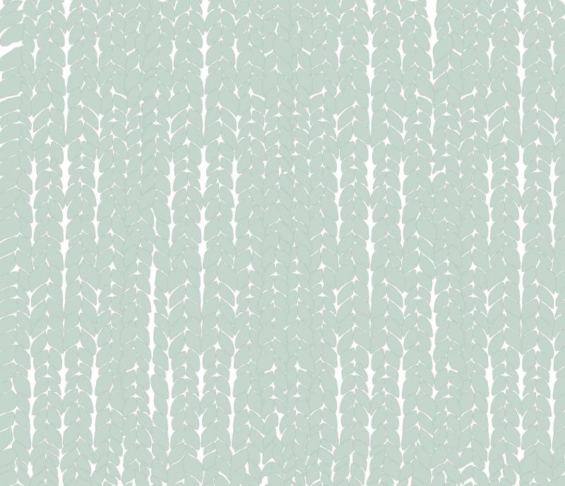 Tapety dla dzieci przybliżenie wzoru green wool