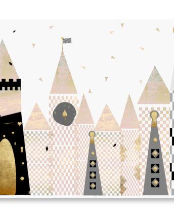 Mural dziecięcy pink wonderland