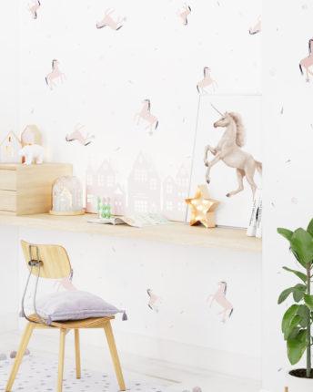 tapeta dla dzieci Unicorn