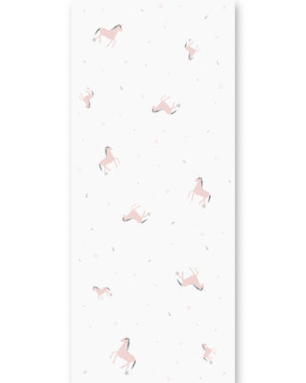 tapeta dla dzieci pink unicorn
