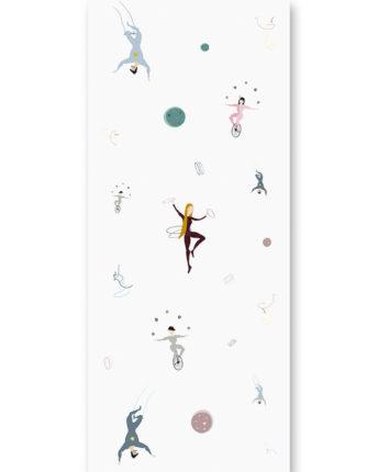 tapeta dla dzieci acrobats