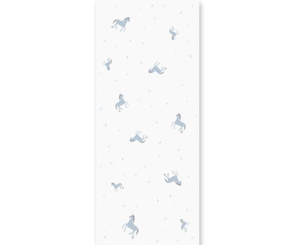 tapeta dla dzieci Blue unicorn