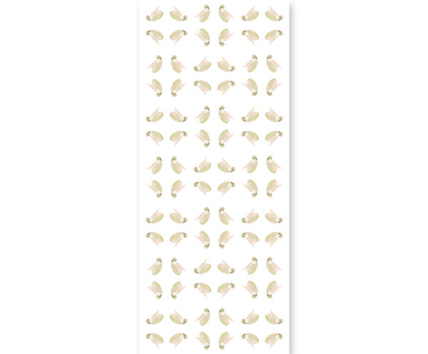 tapeta dla dzieci yellow swimming design