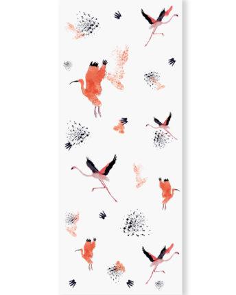 tapeta dla dzieci Flamingo