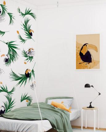 plakat dziecięcy toucan