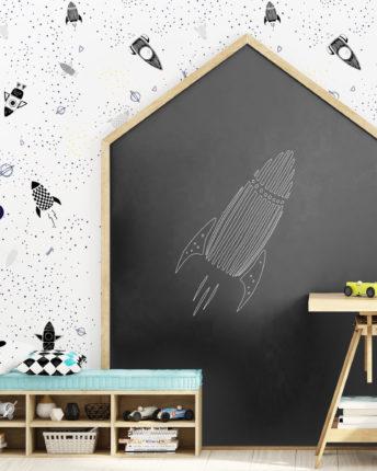 tapeta dla dzieci Space