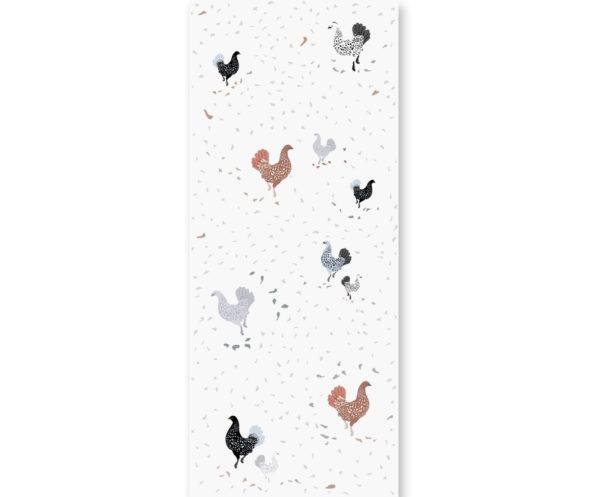 tapeta dla dzieci happy Hens
