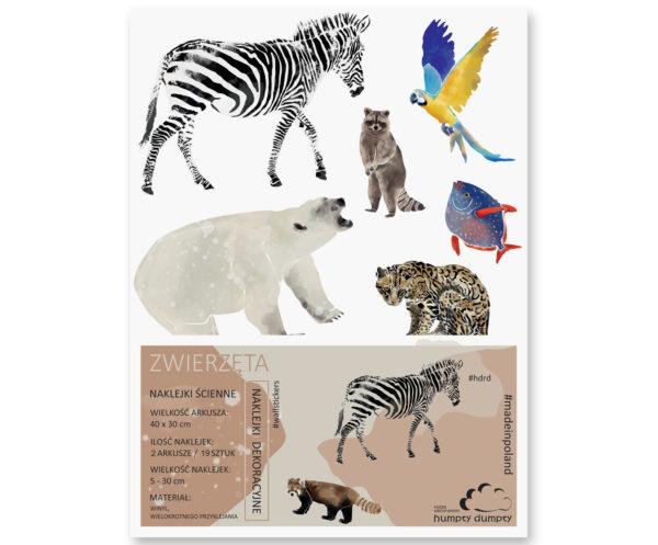 naklejki Animals minizoo